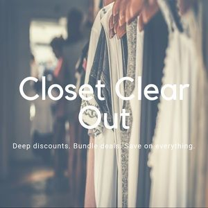 ✨CLOSET CLEAR OUT✨